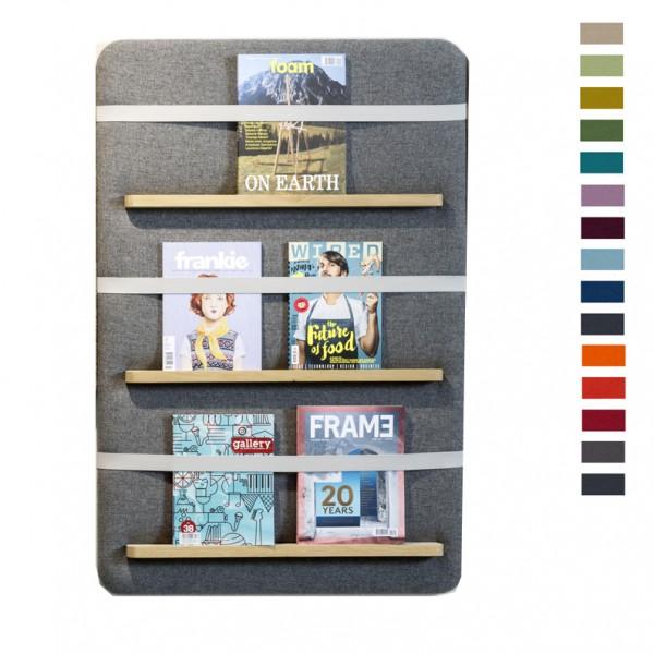 Cascando Pillow Wall 80x120 Broschürenhalter