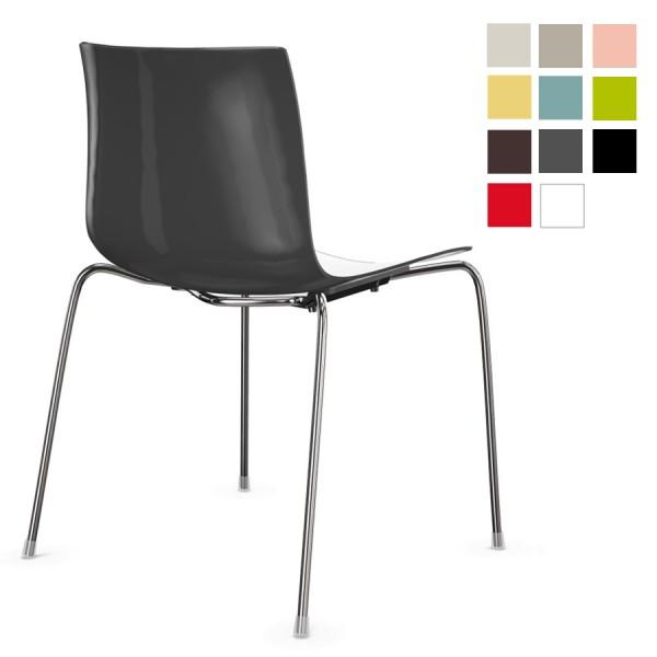 AKTION: Arper CATIFA 46 0251 zweifarbig Vierfuß - verschiedene Farben