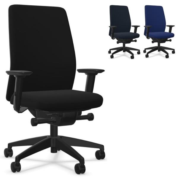 Interstuhl AIMis1 AM11E (1S02) Bürostuhl Polsterrücken niedrig Komplettausstattung