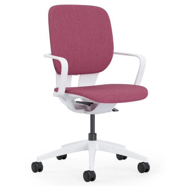 Klöber LIM Drehstuhl (lim98) mit gepolstertem Sitz und Rücken - Bewegungsarmlehnen