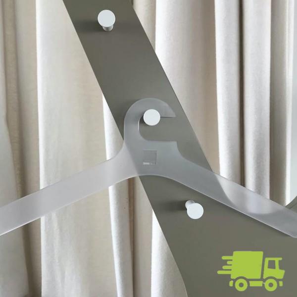 Cascando POLE Kleiderbügel transparent