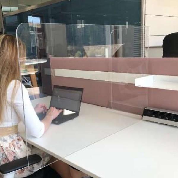 Neudoerfler Distanz Screen - Schreibtisch Trennwand