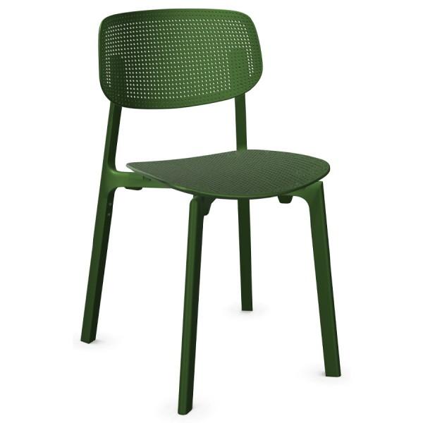 Kristalia COLANDER Chair Grasgrün