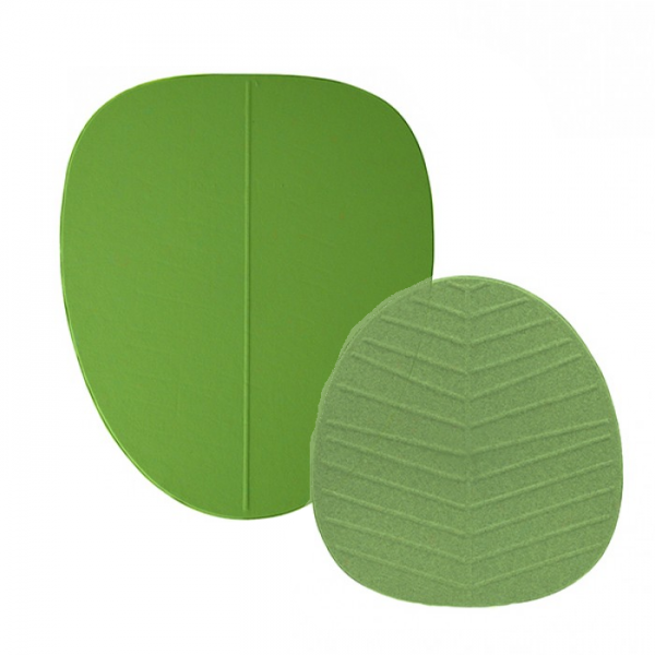 Bejot Alberi Akustik Blatt Wandabsorber grün groß