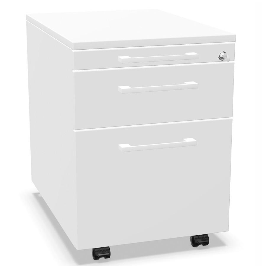 Palmberg Rollcontainer ORGA PLUS 1-3-6 mit Griffen - viele Farben PM10400