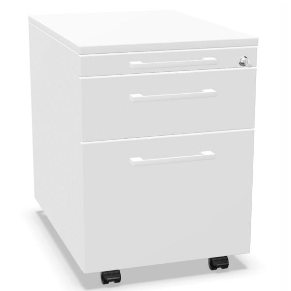 Palmberg Orga Plus Container weiß Griffe weiß
