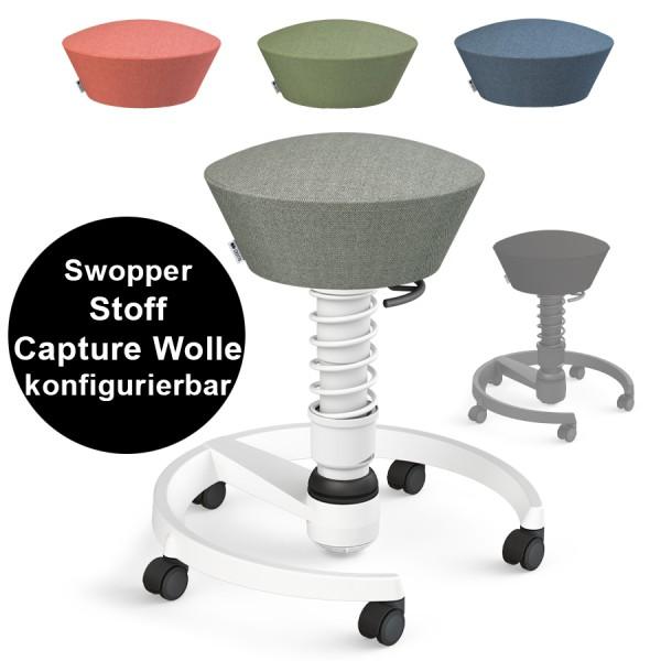 Aeris Swopper Capture Wolle mit Rollen konfigurierbar