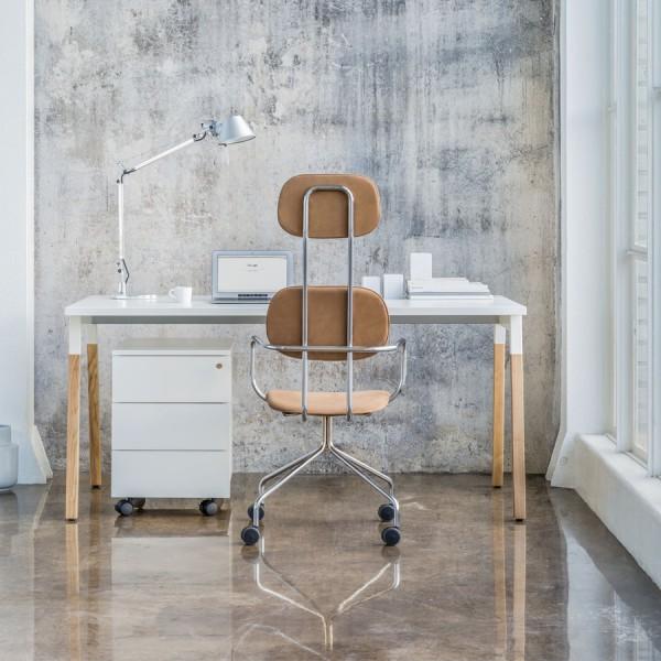 mdd Ogi Wood Schreibtisch weiß