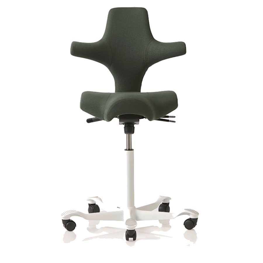 HAG Capisco 8106 Sattelstuhl Bürostuhl in Stoff Select grün HAG100167