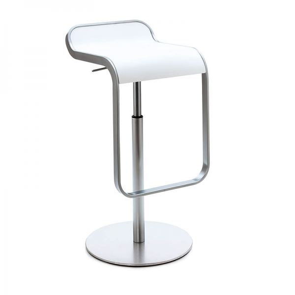 Lapalma LEM mit Sitzfläche weiß lackiert