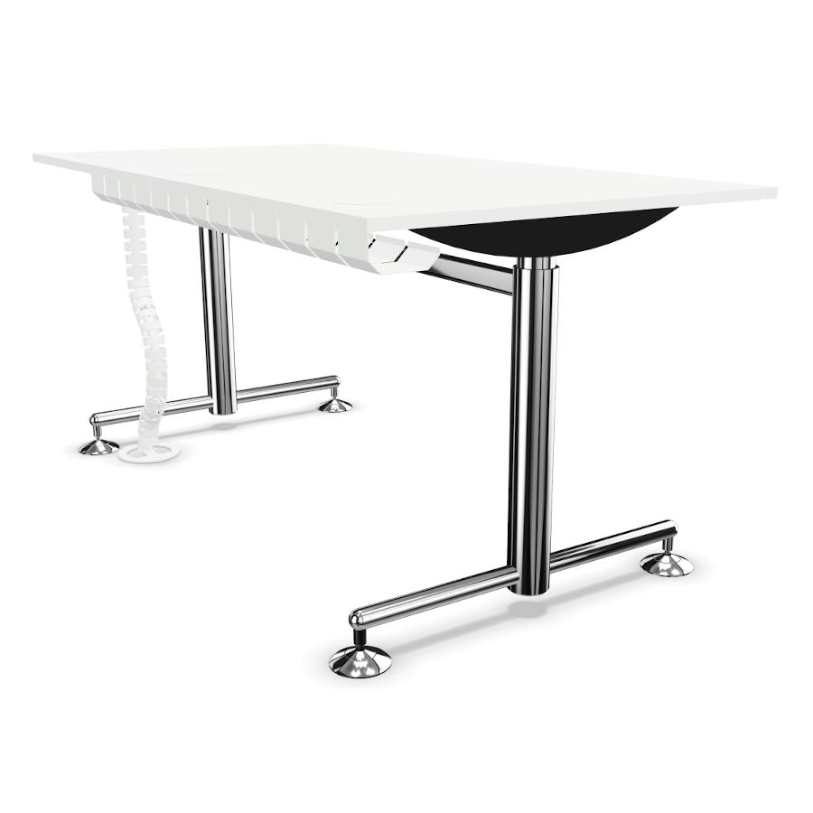 Bosse-M1-Tisch-in-weiss-mit-Kabelkette