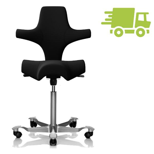 HAG CAPISCO 8106 Stoff Xtreme schwarz mit Sattelsitz - schnell geliefert