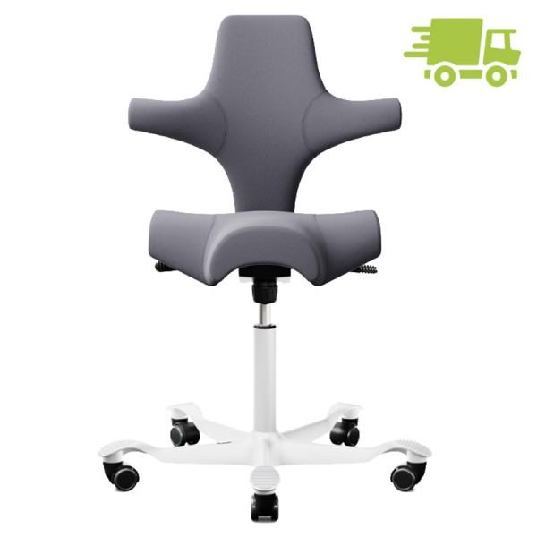 HAG CAPISCO 8106 Stoff Xtreme grau mit Sattelsitz - schnell geliefert