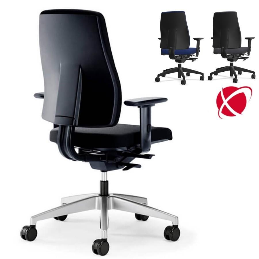 Interstuhl GOAL (152G) Bürostuhl schwarz mittelhoher Rücken IS50010
