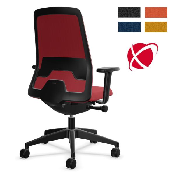 Interstuhl EVERYis1 (EV361) Bürostuhl schwarz Chillback Flextech