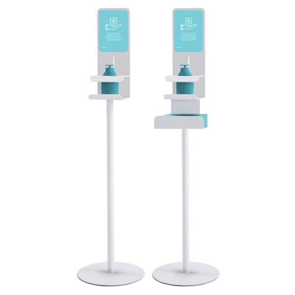 Rexite Dixpenser - Ständer für Hygieneprodukte mit Verriegelungssystem - Virusschutz