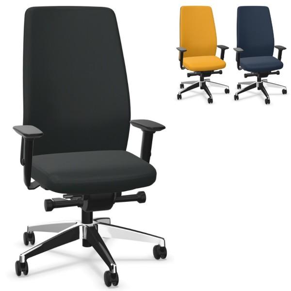 Interstuhl AIMis1 AM11C (1S22) Bürostuhl Polsterrücken hoch Komplettausstattung