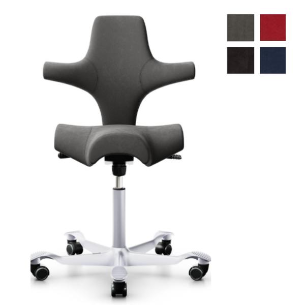 HAG Capisco 8106 Stoff Comfort+ Bürostuhl Sattelstuhl