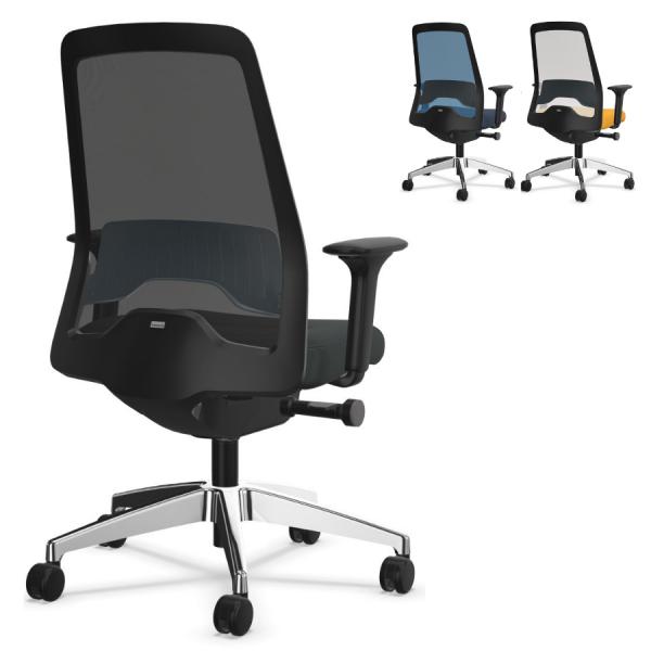 Interstuhl EVERYis1 (EV21C) Bürostuhl Netzrücken Comfort - Komplettausstattung - Express Modell