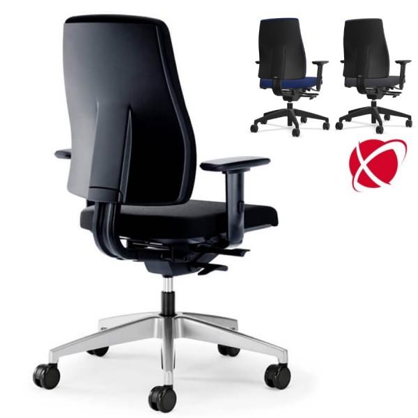 Interstuhl GOAL (152G) Bürostuhl schwarz mittelhoher Rücken