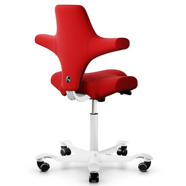 HAG CAPISCO 8106 Stoff Xtreme rot mit Gestell weiß