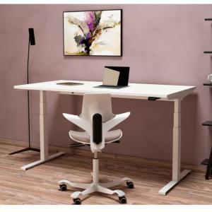 Flux E höhenverstellbarer Schreibtisch Neudoerfler Moodbild