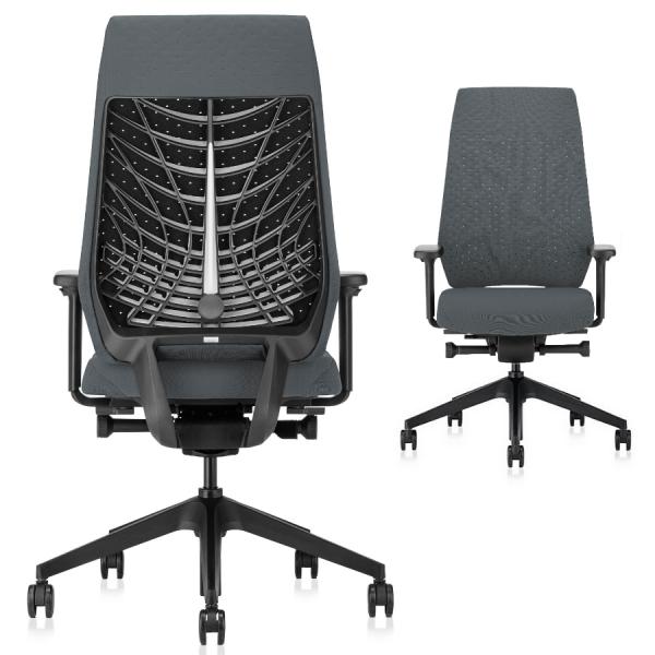 Interstuhl JOYCEis3 JC317 Bürostuhl mit Softback hoch Farbe anthrazit schwarz