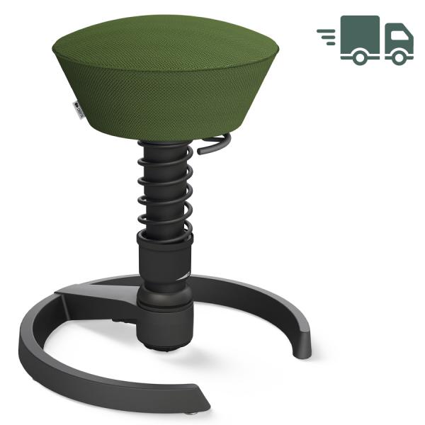 Aeris Swopper AIR mesh grün - Gleiter - Gestell schwarz - Standardfeder