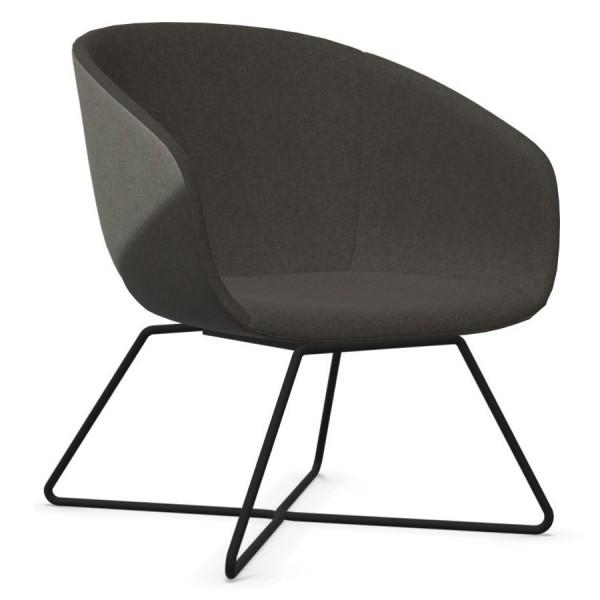 Bejot Oxco OX 424 grau Gestell schwarz- Sitzschale dunkelgrau