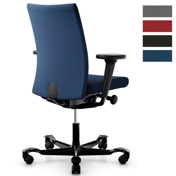 HAG Creed 6006 mit hoher Rückenlehne u. 3D-Armlehnen - Bezug Xtreme blau