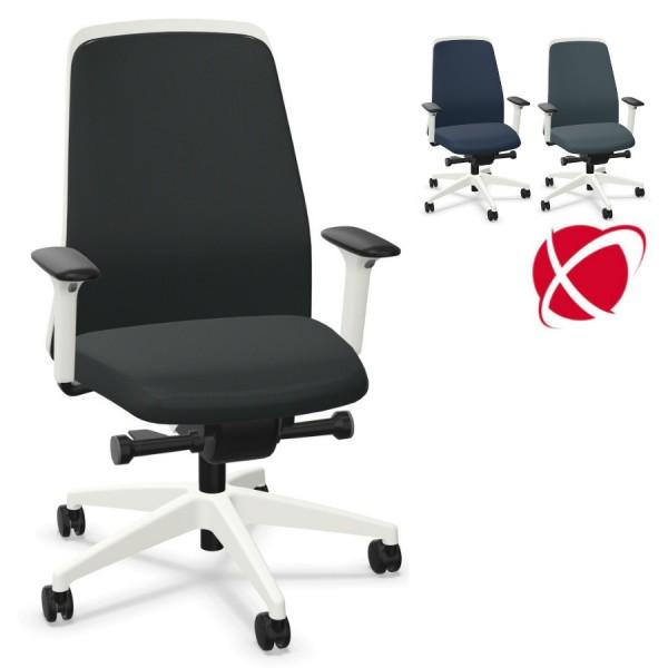 Interstuhl EVERYis1 EV361 FLEXTECH Bürostuhl weiß mit Chillback Rückenlehne