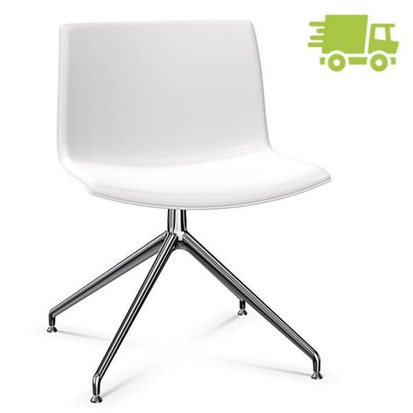 Arper CATIFA 53 2054 Stuhl Sternfuß drehbar Farbe weiß - schnell geliefert