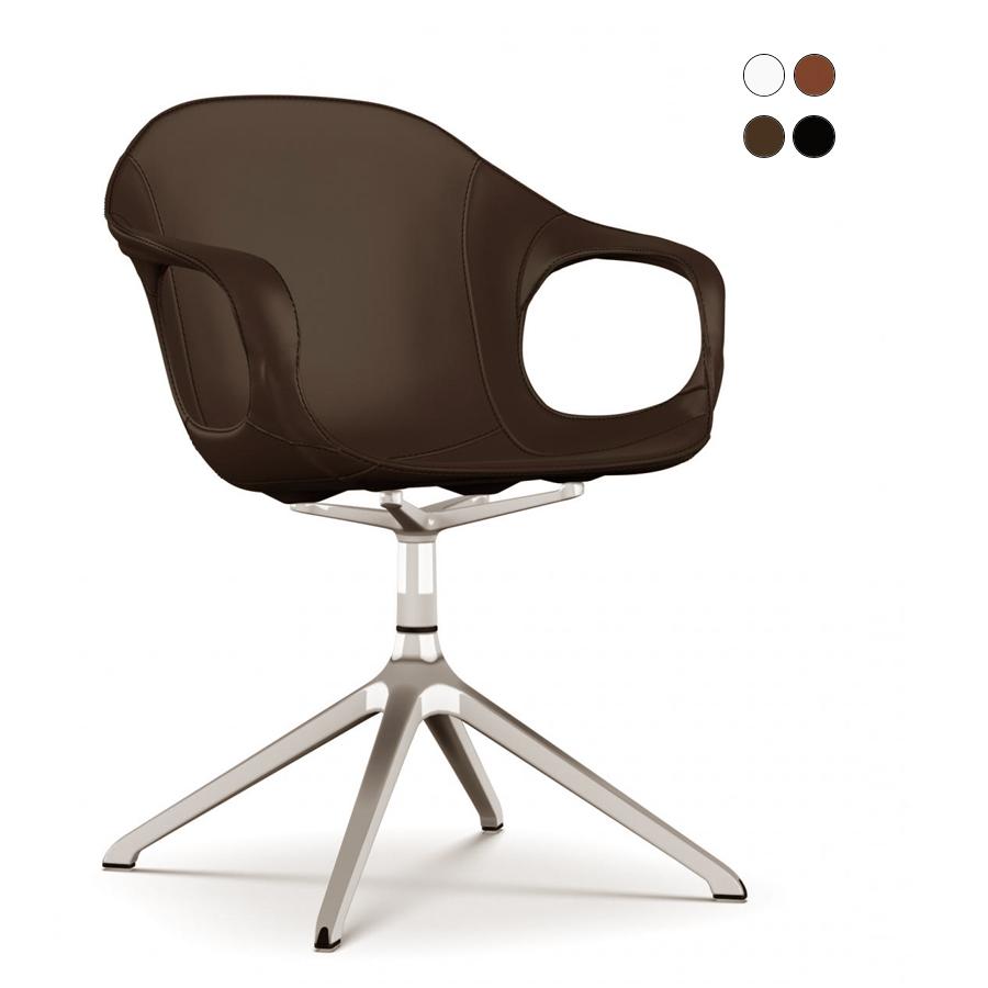 kristalia elephant drehstuhl leder konferenz. Black Bedroom Furniture Sets. Home Design Ideas
