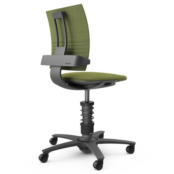 Aeris 3Dee Bürostuhl Capture grün Standard-Feder - Gestell schwarz