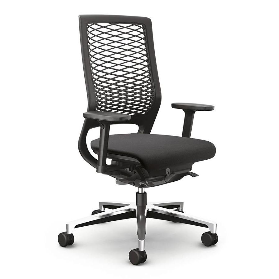 Klöber MERA 88 mit Kunststoffnetzrücken schwarz Bürostuhl KL10000