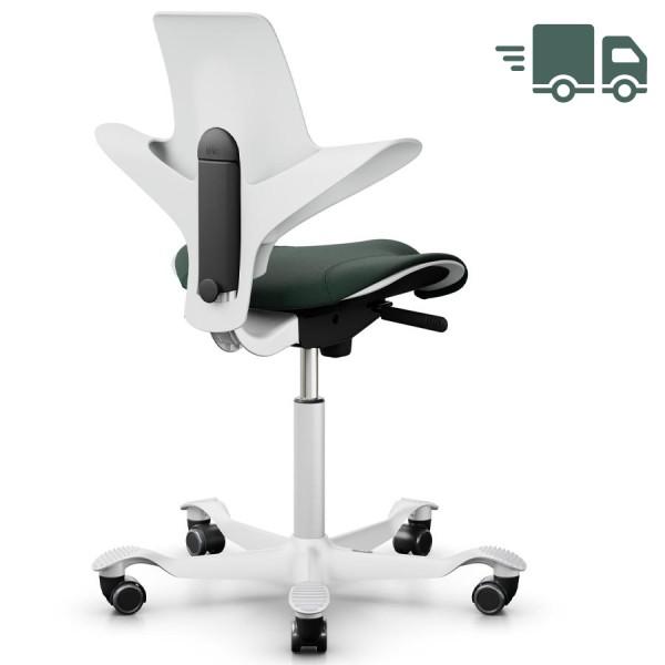 HAG CAPISCO PULS 8020 White Edition mit Stoff Select dunkelgrün
