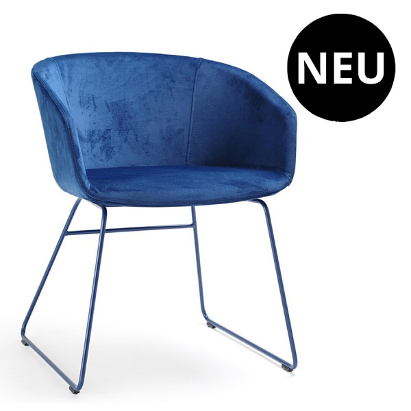 Bejot OX S 270 Loungesessel mit Kufengestell Stoff Charles