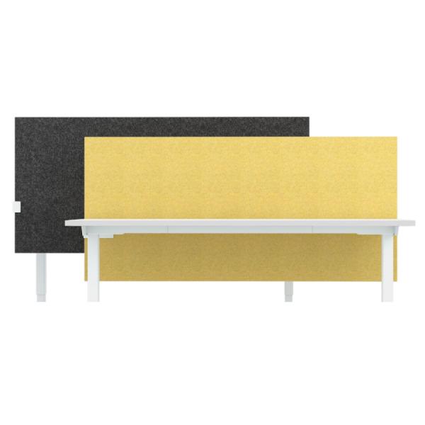 RWH höhenverstellbarer Screen für MILANO Schreibtisch