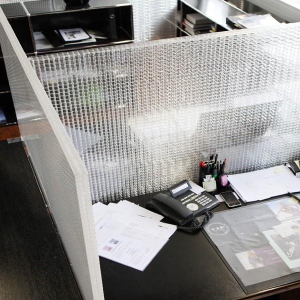 Rosso CP30 Schreibtischtrennwand