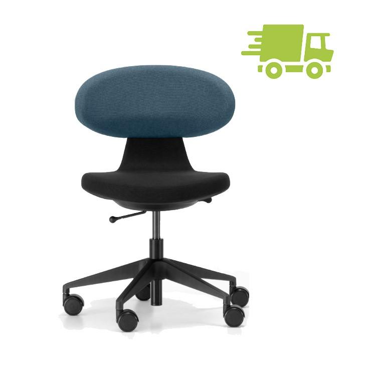 Girsberger SIMPLEX 3D Homeoffice Bürostuhl schwarz-blau GB100040