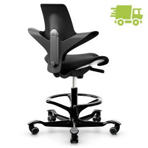 HAG CAPISCO PULS 8020 Stehhilfe black edition mit Fußring - schnell lieferbar