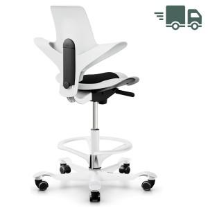 HAG Capisco 8010 Stehhilfe mit Fußring White Edition