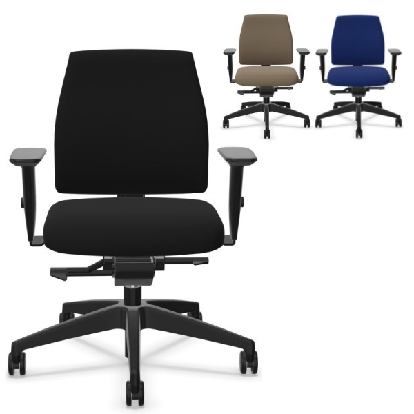 Interstuhl GOAL (102G) Bürostuhl niedrige Rückenlehne verschiedene Farben