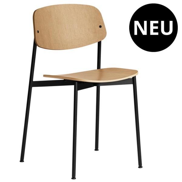 Today Chair - Eiche natur - Gestell schwarz