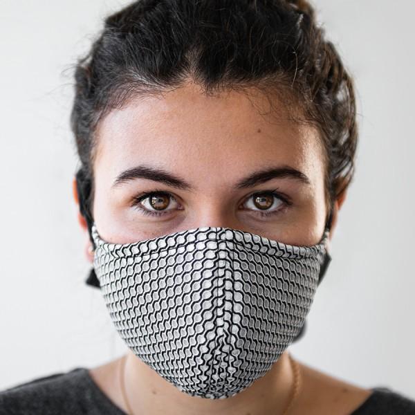 Dauphin-Maske für Mund und Nase