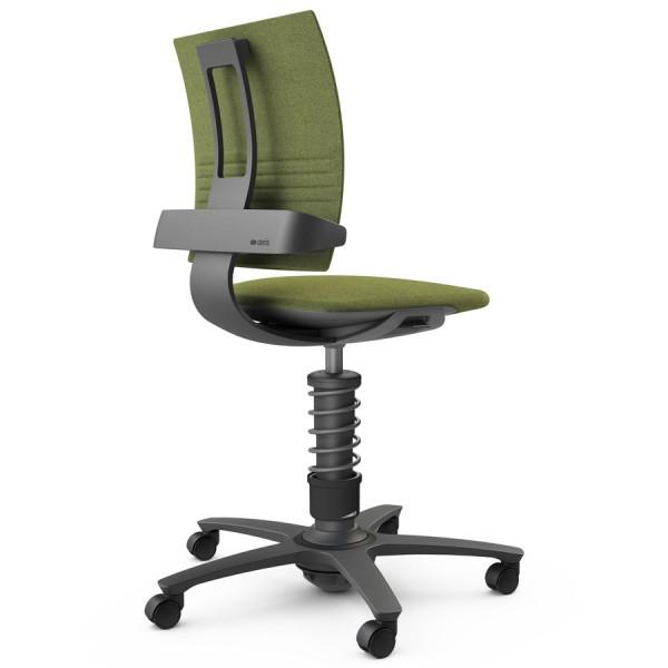 Aeris 3Dee Bürostuhl Capture grün High-Feder - Gestell schwarz