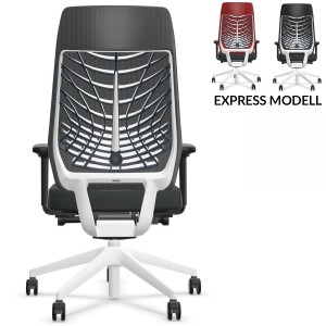 Interstuhl JOYCEis3 JC21C (JC217) Bürostuhl mit Netzrücken Comfort Komplettausstattung - Express