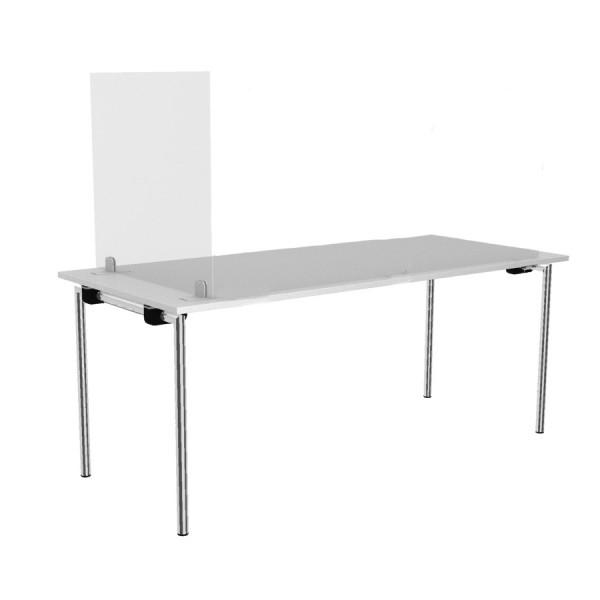 Rosconi T2 Tisch-Trennwand - B 75 x H 66 cm