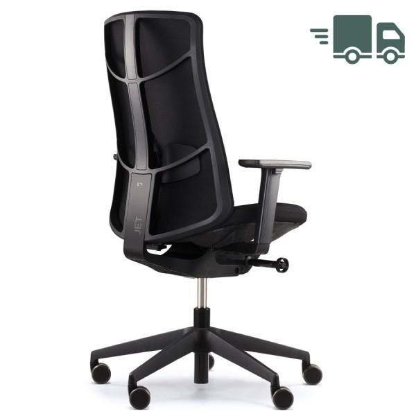König+Neurath JET.III Bürodrehstuhl mit Softpolster schwarz - Sonderedition - schnell geliefert