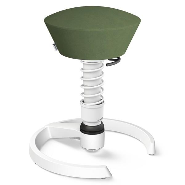 Aeris Swopper Mikrofaser grün mit Gleitern - Gestell weiß